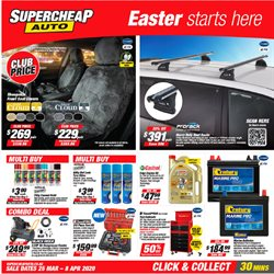 SuperCheap Auto catalogue ( 3 days left )
