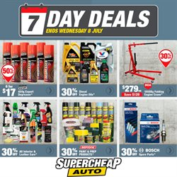 Cars, Motorcycles & Spares offers in the SuperCheap Auto catalogue in New Plymouth ( 3 days left )