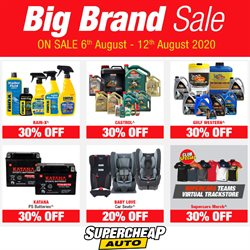 Cars, Motorcycles & Spares offers in the SuperCheap Auto catalogue in Wellington ( 2 days left )