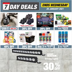 Cars, Motorcycles & Spares offers in the SuperCheap Auto catalogue in Hamilton ( Expires tomorrow )