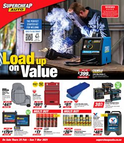 SuperCheap Auto catalogue ( Expires tomorrow)