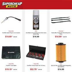 SuperCheap Auto catalogue ( 6 days left )