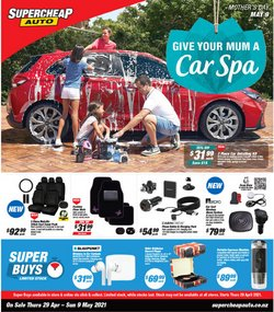 Mother's Day offers in the SuperCheap Auto catalogue ( Expires tomorrow)
