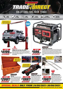 Cars, Motorcycles & Spares offers in the SuperCheap Auto catalogue ( 13 days left)
