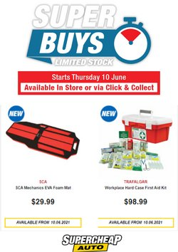SuperCheap Auto offers in the SuperCheap Auto catalogue ( Expired)