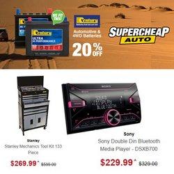 SuperCheap Auto offers in the SuperCheap Auto catalogue ( Expires tomorrow)