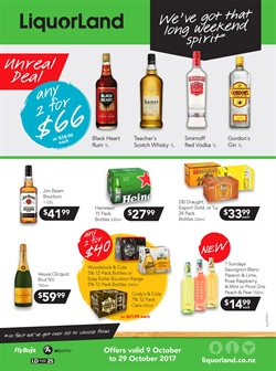 Grocery & Liquor offers in the Liquorland catalogue in Carterton