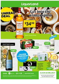 Offers from Liquorland in the Christchurch special
