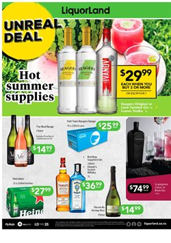Supermarkets offers in the Liquorland catalogue in Auckland