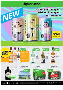 Supermarkets offers in the Liquorland catalogue in Palmerston North ( 2 days ago )