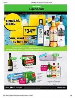 Supermarkets offers in the Liquorland catalogue ( 2 days left )