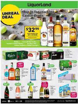 Liquorland catalogue ( Expired )