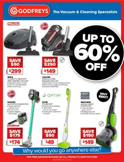 Offers from Godfreys in the Auckland special