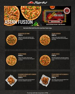 Offers from Pizza Hut in the Carterton special