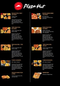 Offers from Pizza Hut in the Auckland special