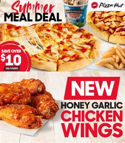 Restaurants offers in the Pizza Hut catalogue in Tauranga ( 9 days left )