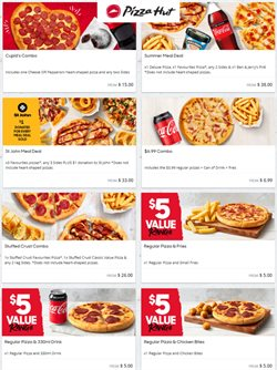 Restaurants offers in the Pizza Hut catalogue ( 2 days left )