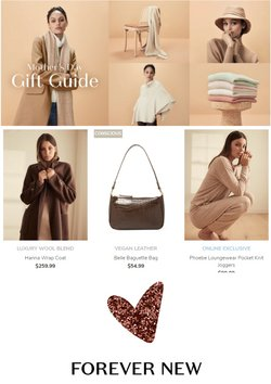 Mother's Day offers in the Forever New catalogue ( 7 days left)
