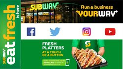 Restaurants offers in the Subway catalogue in Tauranga ( Published today )