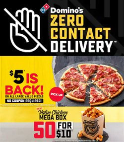 Domino's Pizza catalogue ( More than a month )