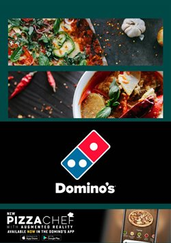 Restaurants offers in the Domino's Pizza catalogue in Tauranga ( More than a month )