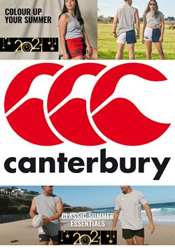 Canterbury catalogue ( Expired )