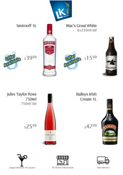 Offers from Liquor King in the Christchurch special