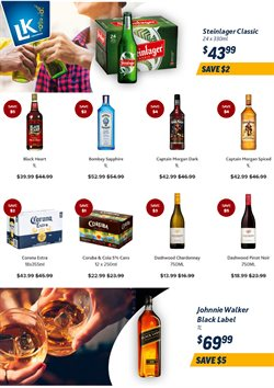 Liquor King catalogue in New Plymouth ( 7 days left )
