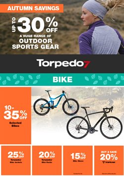 Offers from Torpedo7 in the Auckland special