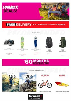 Sport offers in the Torpedo7 catalogue in Auckland