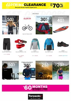 Sport offers in the Torpedo7 catalogue in Rolleston