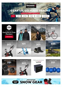 Sport offers in the Torpedo7 catalogue in Queenstown