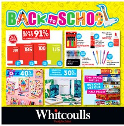 Department Stores offers in the Whitcoulls catalogue in Hastings