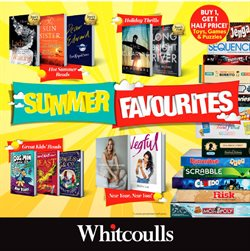 Offers from Whitcoulls in the Auckland special