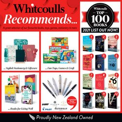 Whitcoulls offers in the Whitcoulls catalogue ( Published today)