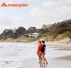 Sport offers in the Macpac catalogue in Hamilton ( More than a month )