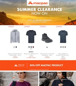 Sport offers in the Macpac catalogue in Whanganui ( 12 days left )