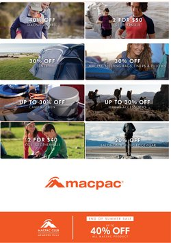 Macpac catalogue ( Expired )