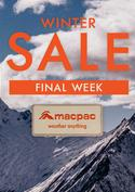 Macpac offers in the Macpac catalogue ( Expires today)