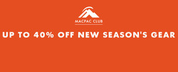 Macpac coupon ( Expires today )