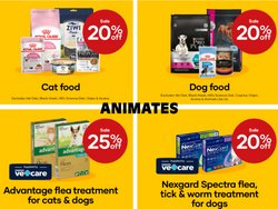 Animates offers in the Animates catalogue ( 6 days left)