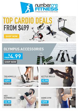 Offers from Number One Fitness in the Auckland special