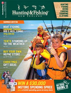 Sport offers in the Hunting & Fishing catalogue in Katikati