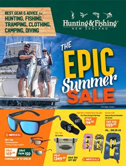 Sport offers in the Hunting & Fishing catalogue in Hastings