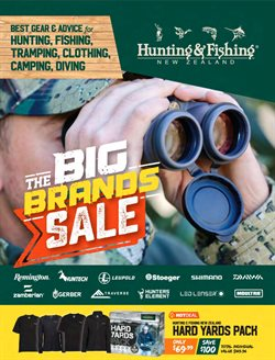 Offers from Hunting & Fishing in the Wellington special
