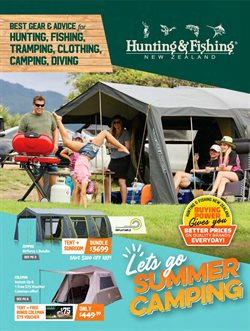 Offers from Hunting & Fishing in the Lower Hutt special