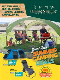 Sport offers in the Hunting & Fishing catalogue in Cromwell