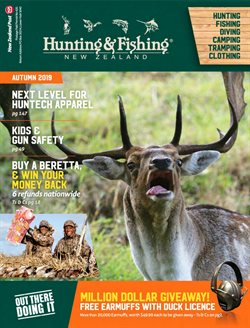 Offers from Hunting & Fishing in the Auckland special