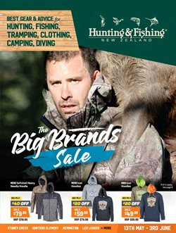 Sport offers in the Hunting & Fishing catalogue in Auckland