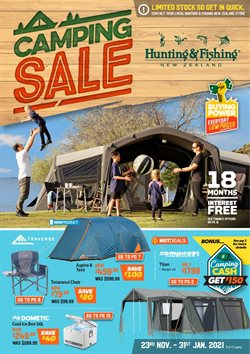 Hunting & Fishing catalogue in Auckland ( 12 days left )